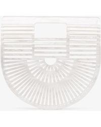 Cult Gaia - White Ark Small Acrylic Bag - Lyst