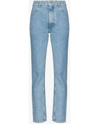 Eckhaus Latta El Straight Leg Jeans - Blue