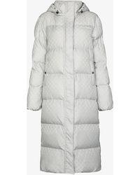 Daily Paper Lisbeth Puffer Coat - Grey