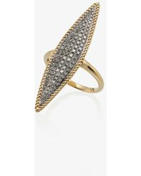 Yvonne Léon 18k Yellow Gold Diamond Ring - Metallic