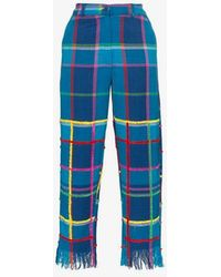 All Things Mochi - Vivienne Check Trousers - Lyst
