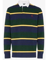 In For Shirt Ralph Rustic Men Hi Lauren Tech Orange Polo Rugby 3R54jqAL