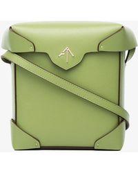MANU Atelier - Green Mini Pristine Crossbody Bag - Lyst