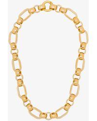 Laura Lombardi Plated Elena Chain Necklace - Metallic