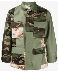 Sophnet - Mixed Camouflage Jacket - Lyst