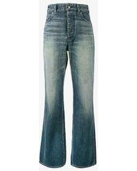 Visvim Social Sculptress Jeans - Blue