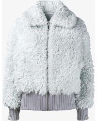 Vika Gazinskaya - Faux Fur Jacket - Lyst