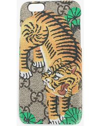Gucci Bengal Iphone 6 Case - Brown