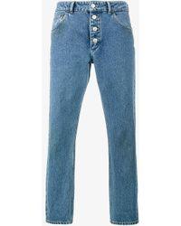 Balenciaga - Tube Jeans - Women - Cotton - 40 - Blue