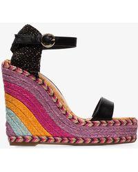 Sophia Webster - Multicoloured Lucita 140 Wedge Sandals - Lyst