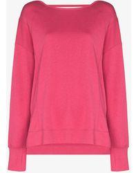 Sweaty Betty After Class Sport Sweatshirt - Pink