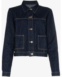 Eve Denim Classic Denim Jacket - Blue