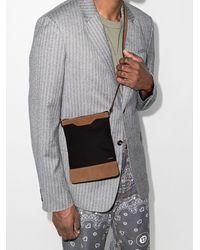Amiri Cotton Canvas Cross Body Bag - Black