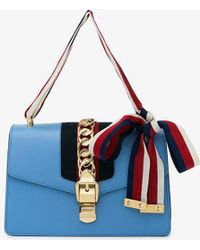 dbf0e0845f5a Gucci Gg Web Dionysus Shoulder Bag in Black - Lyst