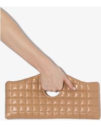 A.W.A.K.E. MODE Liv Quilted Leather Clutch Bag - Brown