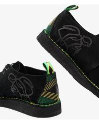 Clarks Jamaica Trek Suede Shoes - Black