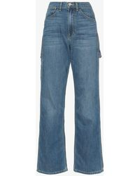 Eve Denim Carolyn High-waisted Loose Fit Jeans - Blue