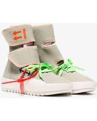 Off-White c/o Virgil Abloh - Moto Wrap Sneakers - Lyst