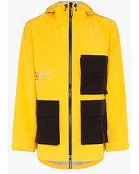 Pas Normal Studios Off-race Shield Jacket - Yellow