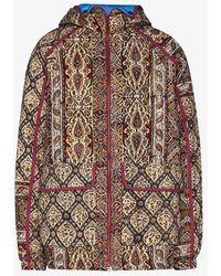 Paria Farzaneh Infinium Print Gore-tex Track Jacket - Red