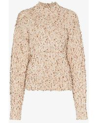 Low Classic - Boucle Jumper - Lyst