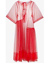Molly Goddard - Rebecca Short Sleeved Tulle Dress - Lyst
