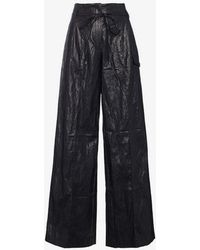 Rejina Pyo - High-waisted Wide Leg Trousers - Lyst