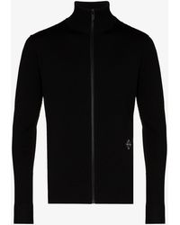 A_COLD_WALL* Zip-up Sweater - Black