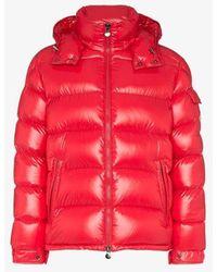 Maya Puffer Jacket Red