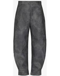 Tibi Sculptured Tie-dye Trousers - Grey