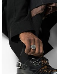 Tom Wood Sterling Champion Ring - - Sterling /stone - Metallic