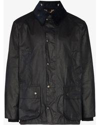 Barbour Bedale Wax Jacket - Blue