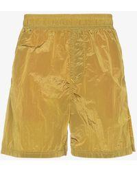 Stone Island - Metal Garment Dyed Swim Shorts - Lyst