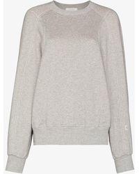 Low Classic Stitch Cotton Sweatshirt - Gray