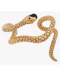Saint Laurent - Snake Cuff Bracelet - Lyst