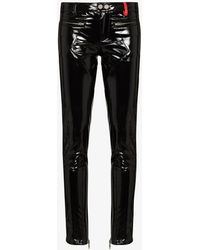 032c Patent Punk Skinny Trousers - Black