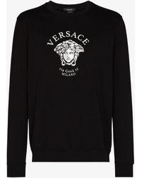 Versace - Medusa Head Logo Sweatshirt - Lyst