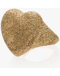 Carolina Bucci - Florentine 18-karat Gold Ring Gold 7 - Lyst