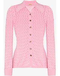 Dodo Bar Or Meryl Knitted Cardigan - Pink