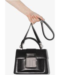 Tom Ford 001 Small Top Handle Bag - Black