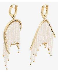 Ellery - Pearl Fringe Emin Drop Earrings - Lyst