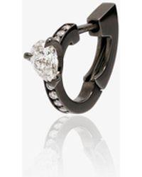 Repossi 18k Harvest Diamond Earring - Black