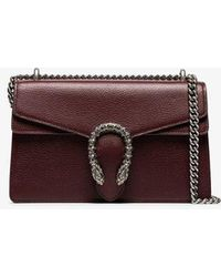 a2ce7a8a5 Gucci Dionysus Patent Leather-trimmed Embossed Velvet Shoulder Bag ...