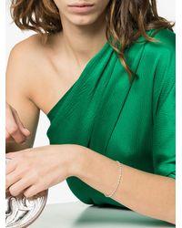 Jade Trau 18k White Gold Penelope Diamond Tennis Bracelet - Metallic