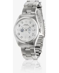 Jacquie Aiche - White Vintage Rolex Leaf And Eye Diamond Dial Watch - Lyst