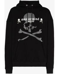 Mastermind Japan Mastermind World Printed Logo Hoodie - Black