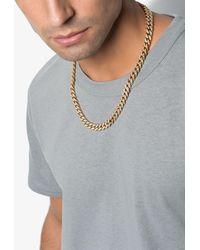 SHAY 18kt Gold Pavé Diamond Link Necklace - Metallic