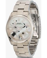 Jacquie Aiche Reworked Vintage Rolex Oyster Perpetual Watch - Metallic