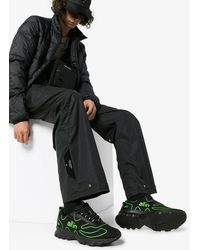 all in Black And Green Tennis Trainers