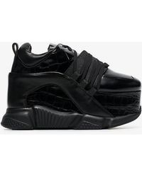 Marques'Almeida - 80 Platform Leather Sneakers - Lyst